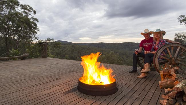 Walker's Run hosts Rob and Ruth love sharing their country cowboy life with their guests. Photo: Airbnb