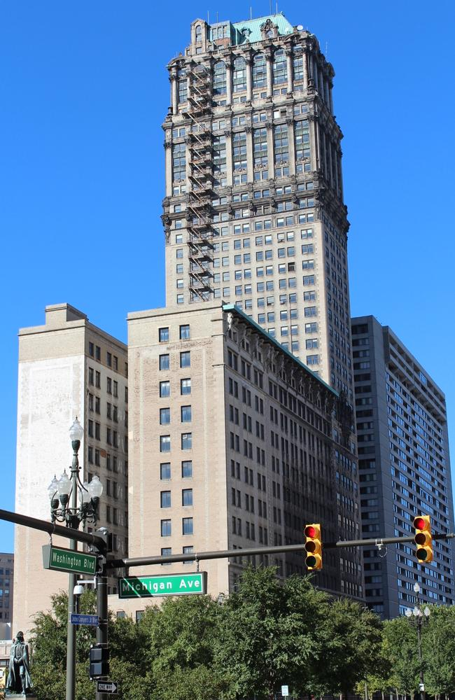 There are plans to renovate Detroit's iconic Book Tower. Picture: Flickr/FunkBrothers. Creative Commons: bit.ly/1jT3O20