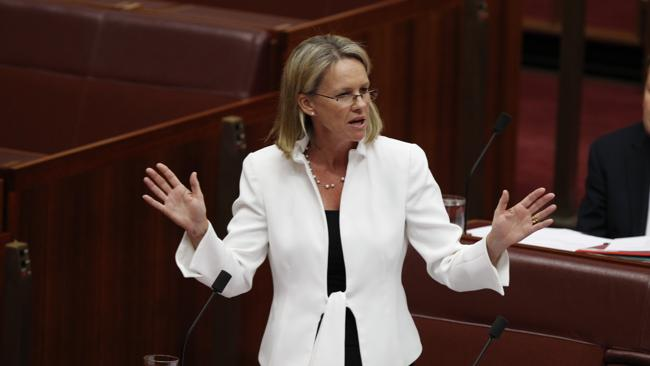 Nationals Senator Fiona Nash speaks in favour of her Youth Allowance Bill which was passed in the Senate, but strongly opposed by Julia Gillard.