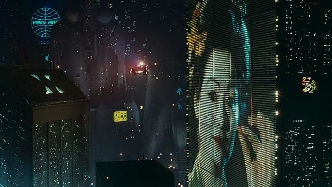It now seems like you can't go to any city in the world without a giant electronic Coke billboard. Picture: Blade Runner