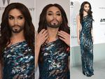Conchita Wurst attends amfAR's 21st Cinema Against AIDS Gala. Picture: Getty