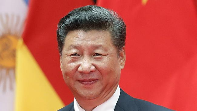 Chinese President Xi Jinping doesn't see his country as disruptive, or as anything other than a 'peace-loving nation'.