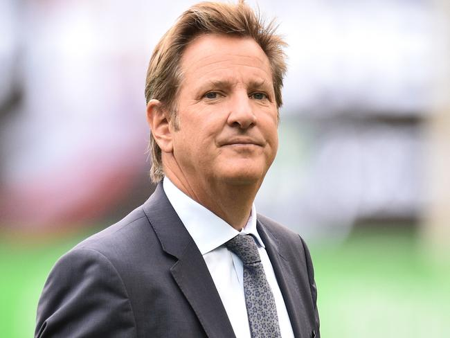 Mark Nicholas took over from Richie Benaud as the face of the commentary team.