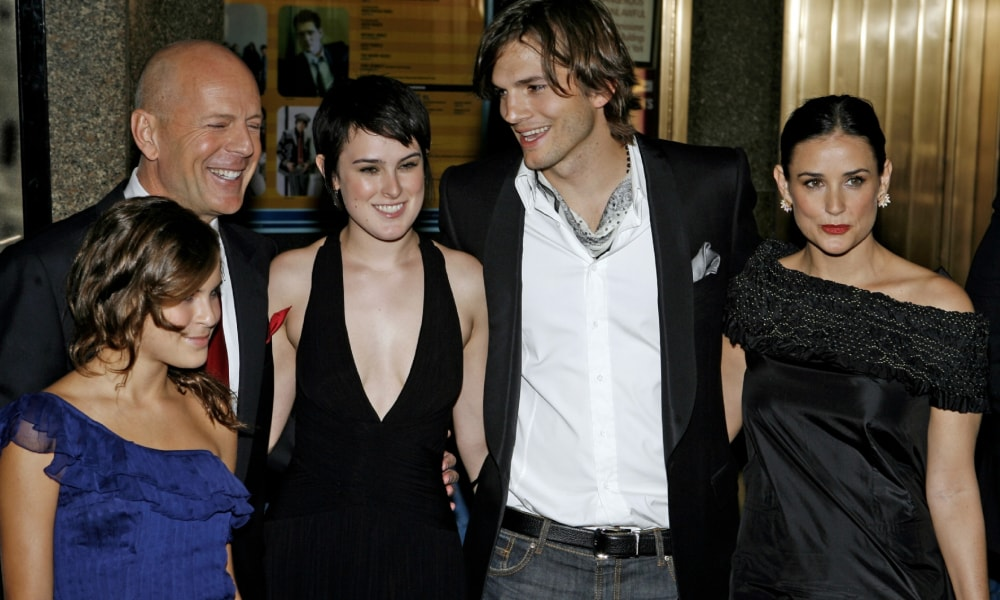 The unusual way Ashton Kutcher dealt with his divorce from Demi Moore
