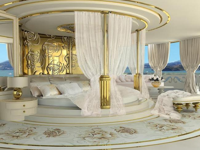 Its Interior Sure Is Lavish Picture La Belle Exclusivepix