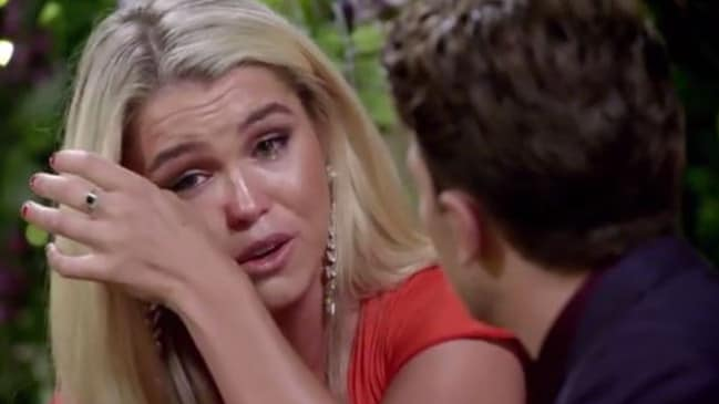 Simone breaks down after a very unnecessary witch hunt.
