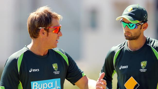 Nathan Lyon might have picked up a few tips from Shane Warne during this year's tour of South Africa.