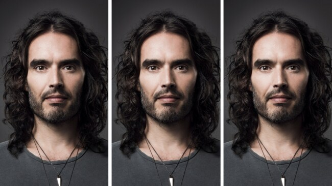 Russell Brand. Photo: Supplied/Pan Macmillan