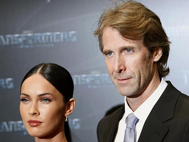 Michael Bay and Megan Fox at the premiere of their film Transformers: Revenge of the Fallen, back in 2009. Can't you just feel the love?