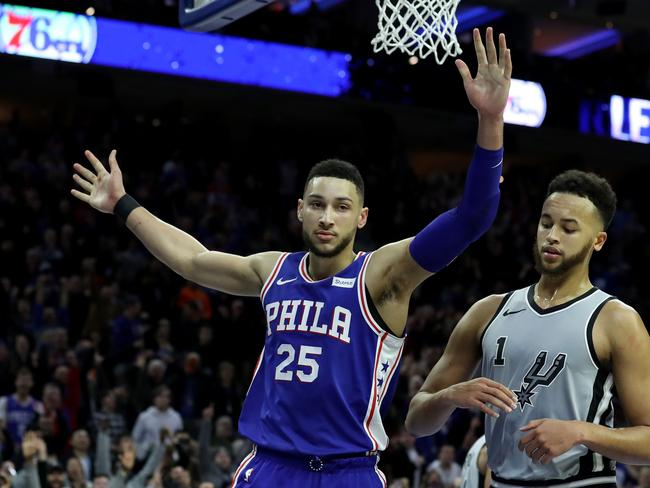 Simmons has copped plenty of flack for his inability to shoot with any range.