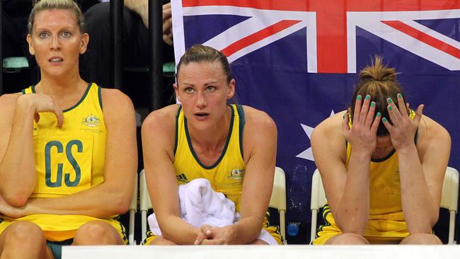 The Australian team comes to terms with its 2010 Commonwealth Games final loss.