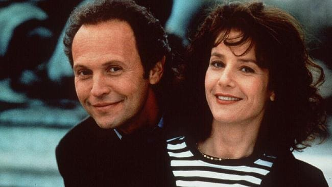 Debra Winger and Billy Crystal in Forget Paris.