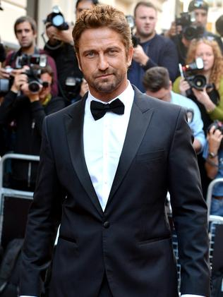 Gerard Butler attends the GQ Men of the Year awards.