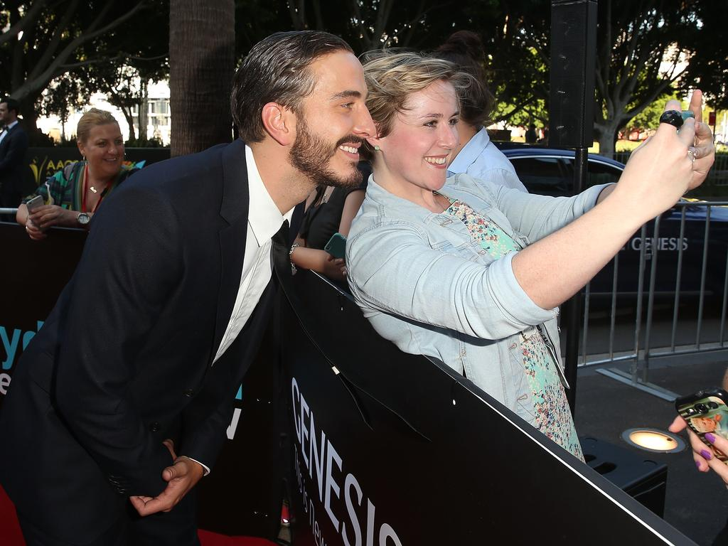 Ryan Corr arrives ahead of the 5th AACTA Awards Presented by Presto at The Star on December 9, 2015 in Sydney, Australia. Picture: AAP