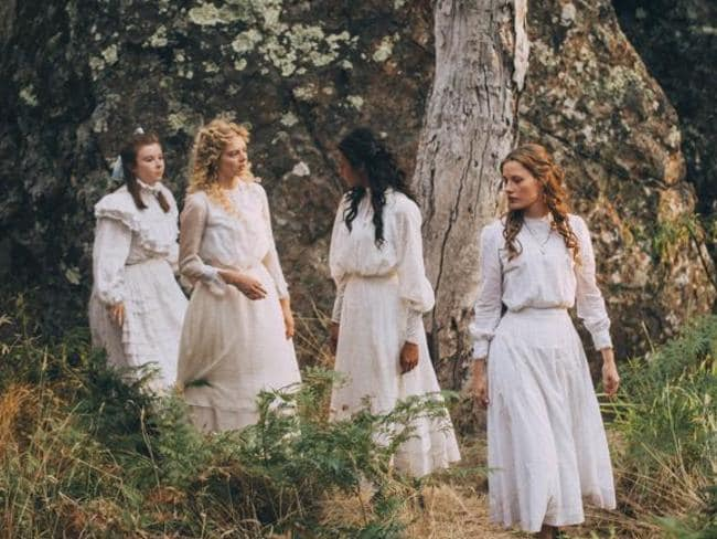 A scene from the 'dazzling' new Aussie-made drama, Picnic At Hanging Rock. Picture: Supplied