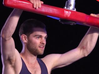 Supplied Entertainment Ninja Warrior Tom O'Halloran Picture: Supplied / Nine