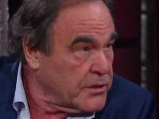 Director Oliver Stone clashed with Stephen Colbert in scenes that didn't make it to air.