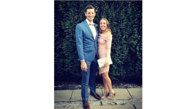 Image: Instagram. Lauren and Christian McGill, together 10 years, married six
