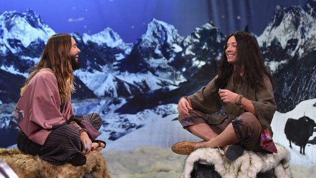 So wise...Jared Leto and Jimmy Fallon as mountain gurus.