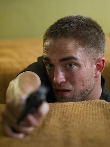 Pattinson as Rey in  <i>The Rover</i>.