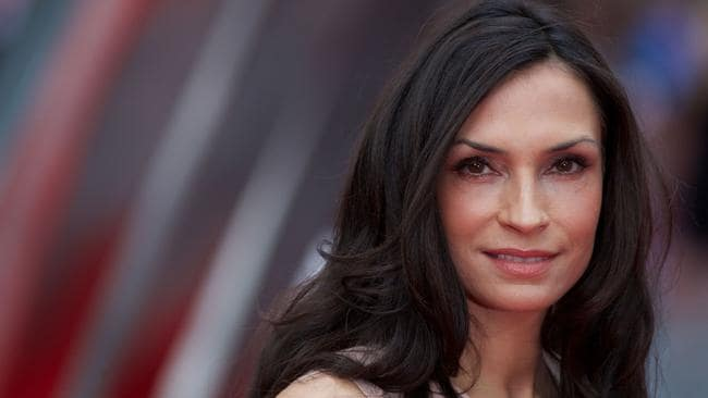 X Men star Famke Janssen. AFP PHOTO