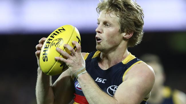 Rory Sloane is expected to poll well in the Brownlow Medal count. Picture: Sarah Reed
