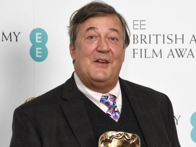 Beloved comedian and TV personality Stephen Fry has sworn off Twitter. Picture: Stuart C. Wilson/Getty Images