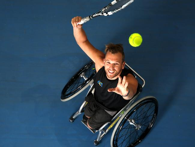 Dylan is a grand slam champion and played in a 24-hour tennis marathon.