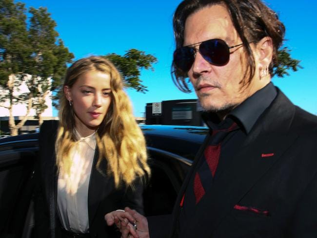 Depp's wedding to Amber Heard put a solid dent in his bank account. Picture: Patrick Hamilton