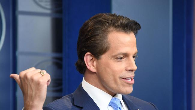 The Mooch landed himself in trouble because of his rants.