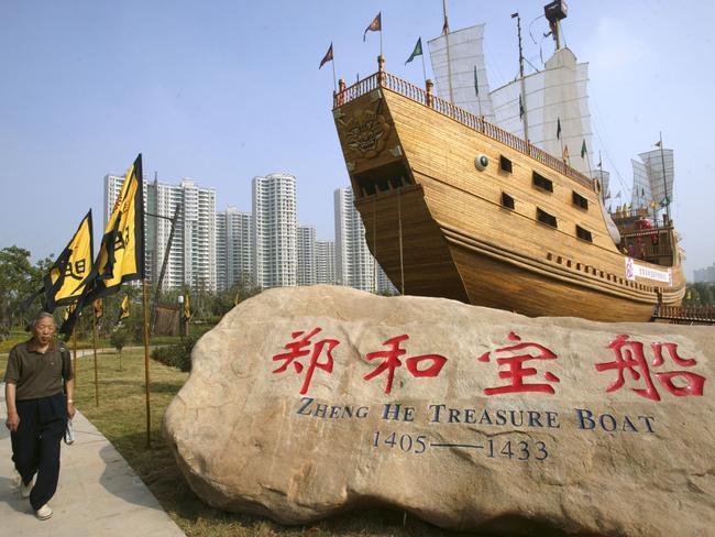 Zheng He Ship Replica Zheng He treasure ship...