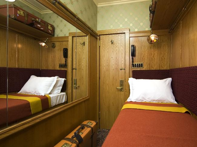 The Jane's cheaper rooms are tiny single cabins.