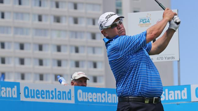 Veteran Peter O'Malley says the Brookwater course suits him ahead of the Queensland Open.