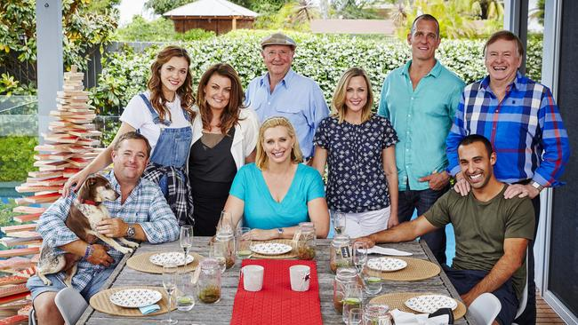 Johanna griggs opens her home for the first time to talk Better homes and gardens christmas special