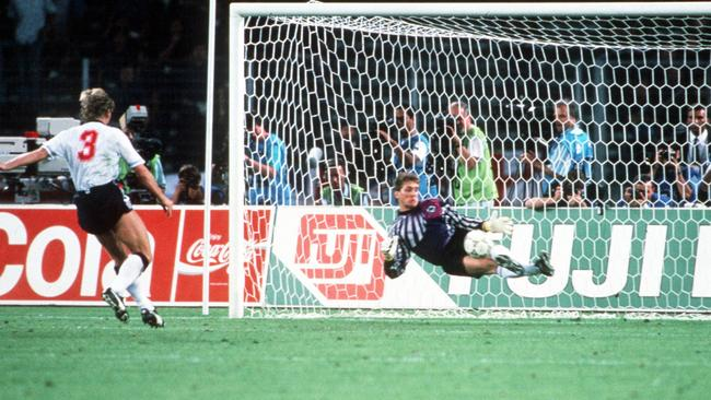 Gazza provided the tears, but it was Stuart Pearce's clanger that cost England in 1990.