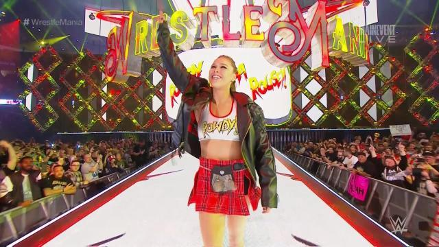 Image result for Ronda Rousey WrestleMania 34