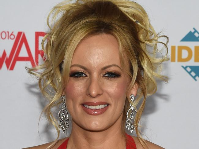Mr Trump was a private citizen when the 2006 sexual encounter with adult film actor Stormy Daniels was alleged to have taken place. Picture: Ethan Miller/AFP/Getty Images
