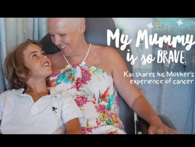 Telling her story ... Queensland cancer mum Donna Penny wrote this book from her son's perspective. Picture: Facebook/Where's My Mummy?