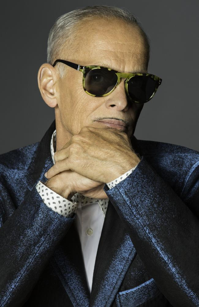 """All those summer movies are just ... science projects"" ... Outsapoken US filmmaker John Waters. Picture: Supplied"