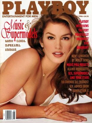 Cindy Crawford appeared on 'Playboy' a number of times. Photo: File