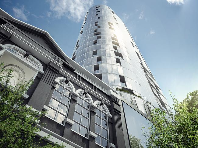 Gurner's FV project's final building, in Brisbane's Fortitude Valley, sold out in six weeks.