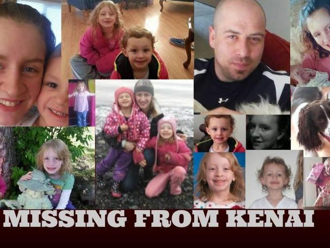 Posters of the missing family have been circulating on Facebook