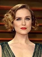 Evan Rachel Wood attends the 2014 Vanity Fair Oscar Party. Picture: Getty