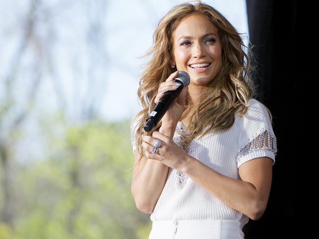 Businesswoman of note ... Jennifer Lopez hosts a private fashion show featuring clothes from the Jennifer Lopez collection available exclusively at Kohl's.