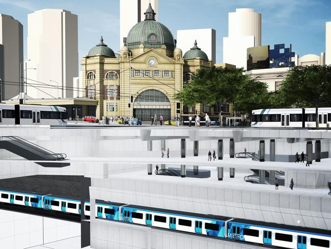 Turnbull to help fund major rail project