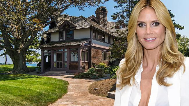heidi klum buying 11 million private island in connecticut. Black Bedroom Furniture Sets. Home Design Ideas