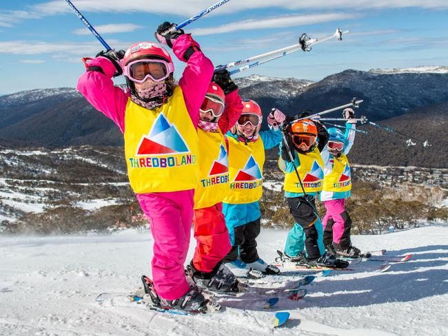 Thredbo's ski and snowboard school offers great value packages combining group or private lessons, chairlift passes and gear rental to help you find your snowfeet at any age.