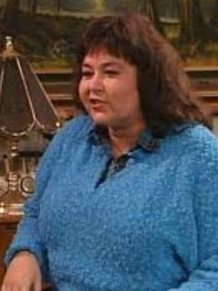 Rumour ... Rosanne says Clooney left a nude pic on the fridge.