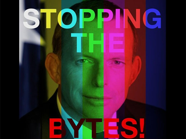 Tony Abbott- stop the bytes meme