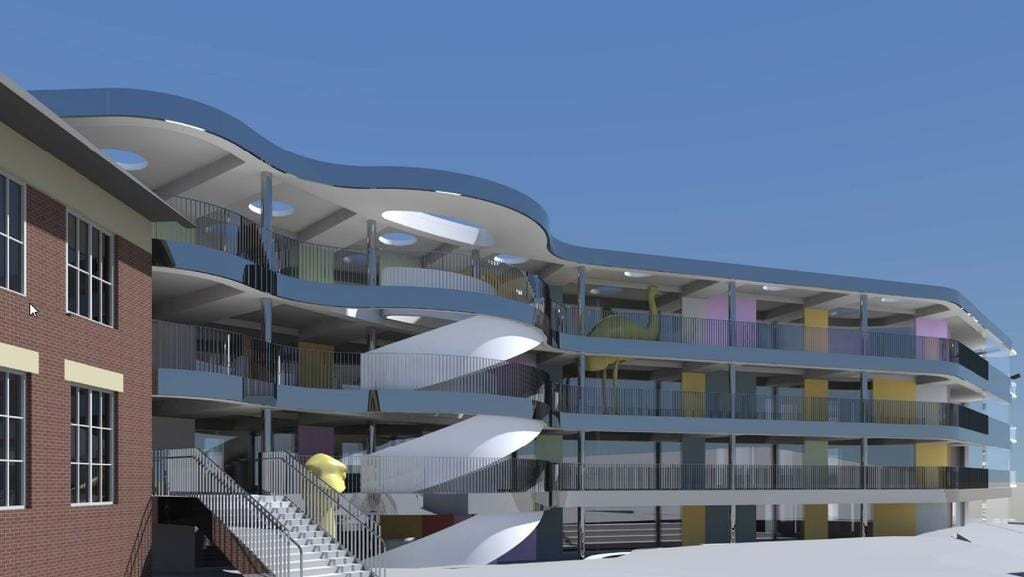 bellevue hill post office. Bellevue Hill Post Office. An Artists Impression Of The New Public School Classrooms Office L